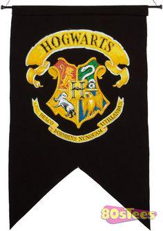 Hogwarts House Wall Banner