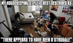 My housekeeping