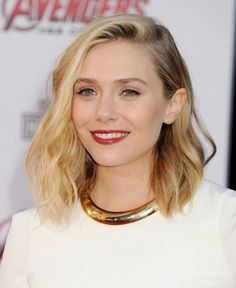 Could Elizabeth Olsen's Wob (Wavy Bob) Be Any More Perfect?