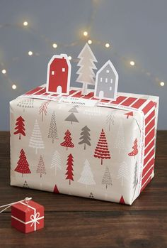 Style your gifts the Swedish Way with these 3 Wrapping Ideas for Christmas.