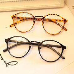 retro eyeglasses 7a95  Vestido U Up Lindo Estilo Vintage Gafas Mujeres Gafas Redondas Marco  Enmarcan el Marco 脫ptico Gafas