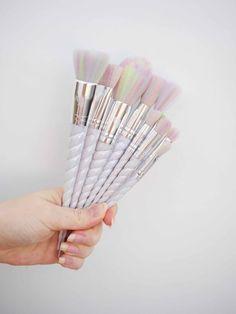 Unicorn Lashes Unicorn Brushes <3