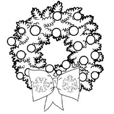 Pretty Wreath Free S For Coloring Pages Printable And Book To Print Find More Online Kids Adults Of