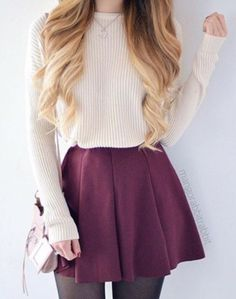 pretty cute girly outfit