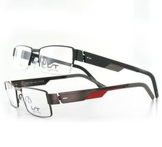 LIGHTEC ALPHA12 - New highly contemporary men's models. The folds in the stainless steel temple offer the wearer a fluid product, with a colorful and contemporary design, combining volume and lightness.