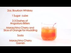 Drinks Made Easy: How To Make A Modern Old Fashioned
