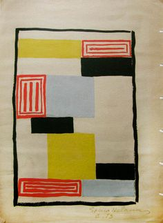 Sonia Delaunay France 1924