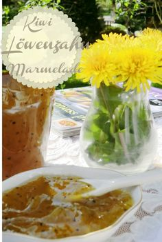 Kiwi Löwenzahn Marmelade