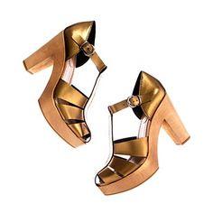 metallic high road sandal // madewell
