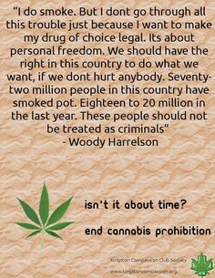 cannabis (marijuana) We should have the right in this country to do what we want, 20 million people smoked pot last yr, These people shouldn't be treated as criminals. Endocannabinoid System, Puff And Pass, Medical Cannabis, Smoking Weed, Natural Medicine, Hemp, Drugs, Herbalism, The Cure