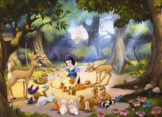 Królewna Śnieżka Disney 254x184 cm- Fototapeta na ścianę - Sklep internetowy DecoArt24.pl