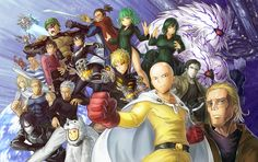Sooo as you all my know, there is this anime/manga out there that has fans going crazy about called One Punch Man. One Punch Man Saitama One Punch Man, One Punch Man Anime, One Punch Man King, Tatsumaki One Punch Man, One Punch Man Funny, Genos Wallpaper, Man Wallpaper, Mobile Wallpaper, Katana