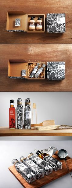 Awesome Oil, Hair, Body, Home #packaging - 茶籽堂 PD