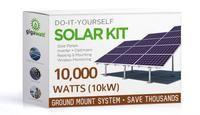 10140 Watt (10kW) Solar Panel Ground Mount Kit