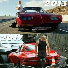 Paul Walker Fast & Furious  @ofurious8 - Red looks Dom! #vindiesel...Yooying