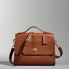 british tan purse