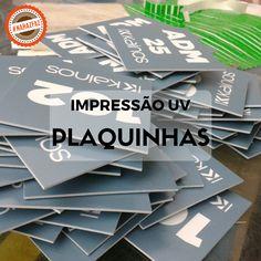 Plaquinhas de Sinalização. #haz #hazsign #grafica #graficarapida #comunicacaovisual #comunicacao #plaquinhas #impressao #impressaouv #corte