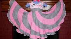 Girls Peppermint Swirl Dress by Chimbroidery on Etsy, $85.00