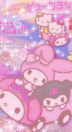 Sanrio Wallpaper, Hello Kitty Iphone Wallpaper, Beste Iphone Wallpaper, Hippie Wallpaper, Hello Kitty Backgrounds, Iphone Background Wallpaper, Kawaii Wallpaper, Aesthetic Iphone Wallpaper, Cartoon Wallpaper