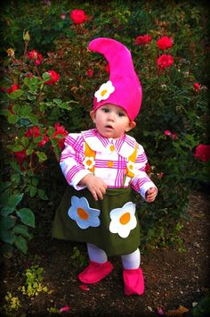 garden gnome kid costume