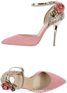 Pink heels picture,heels,fashion, high heels, image, moda, photo, pic, pumps, shoes, stiletto, style, women shoes http://www.womans-heaven.com/pink-heels-picture-24/
