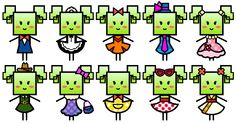 All of Mimi's outfits from Super Paper Mario. Mario And Luigi, Mario Kart, Mario Bros, Paper Mario Games, Persona, Peach Mario, Super Mario Art, Best Villains, Super Mario Brothers