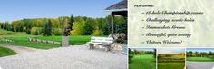 Alberta Beach Golf Resort Alberta Beach, Brittany, Golf Courses, Beautiful, Bretagne