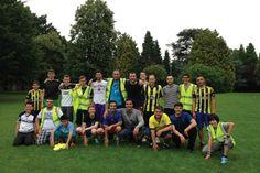 Koleji Öğrencileri İngiltere Yaz Kampı futbol antrenmanı