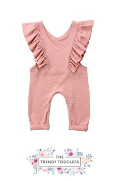 FREE SHIPPING! SHOP Our Byres Jumpsuit for Baby & Toddler Girls