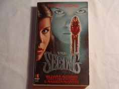 Vintage 80s Horror Paperback The Seeing by by TreasureTroveBooks, $4.95