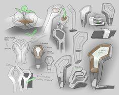 Trophy Design concept sketch