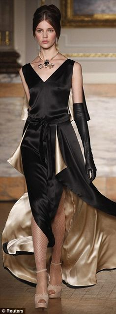 Black and champagne - Alice Temperley