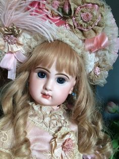 Breathtaking Bebe Antique FRENCH Doll JUMEAU BRU Dress. Perfect Bisque�� | Dolls & Bears, Dolls, Antique (Pre-1930) | eBay!