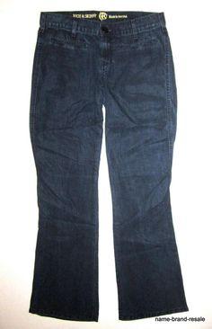 f6ea554b570 RICH   SKINNY Lyocell Trouser JEANS Womens 26 x XX Wide Leg Soft  Lightweight  RichSkinny