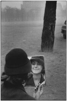 Paris, 1958 by Elliot Erwitt. Looks exactly like my niece