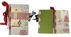 Christmas Highlights Mini Album - Teresa Collins Designs