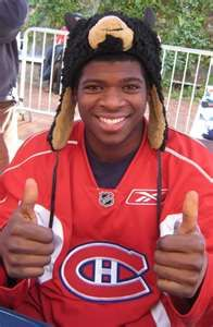 Subban great hockey player - defenceman for The Montreal Canadiens. Montreal Canadiens, Hockey Teams, Hockey Players, Montreal Hockey, Hockey Pictures, The Sporting Life, National Hockey League, Toronto Maple Leafs, Pittsburgh Penguins