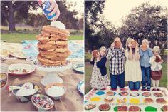 Love this idea for family pictures!!