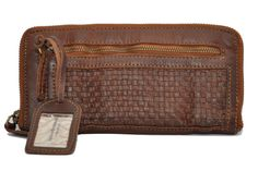 Cowboysbag Portemonnaie PURSE AYR Geldbörse aus Leder von Cowboysbelt, cognac Marken Cowboysbelt