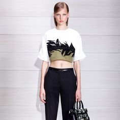 Jason Wu Resort 2014, love this top