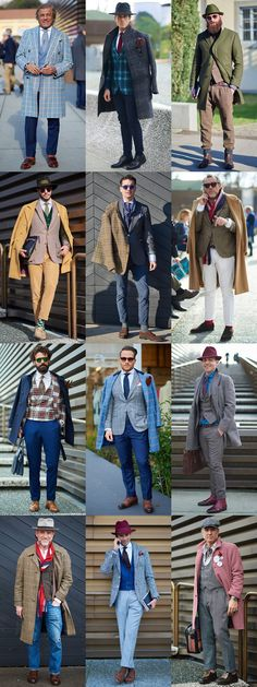 Pitti Uomo Street Style - Tweed, Wool, Flannel, Cord and Checked Tailoring