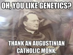 """13 Memes on Catholicism & Science. Like the scientific method? Thank a priest! Like hospitals? Catholics again! """"Because religion holds back scientific progress. Catholic Beliefs, Catholic Memes, Catholic Saints, Roman Catholic, Catholic Rituals, Mere Christianity, Catholic Priest, Pseudo Science, Religious Humor"""