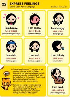 Korean/English: feelings