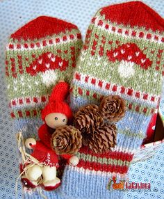 Ravelry: God Jul pattern by Olga Beckmann