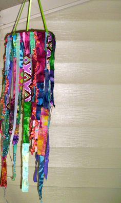 Hippie Bohemian Hanging Fabric Mobile