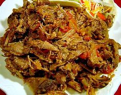Slow Cooker Beef Machaca (Mexican Shredded Beef) Recipe - Recipezazz.com