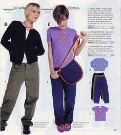 These pants. | 23 Of The Most '90s Fashions From The Spring '97 Delia's Catalog