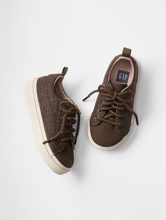 GAP Baby Toddler Boys Size 5 NWT Brown Distressed Hi-Top Sneakers Boots Shoes
