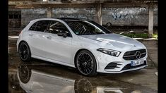 The new Mercedes-Benz A-Class is as youthful and dynamic as ever, but grown-up and comfortable like never before. It completely redefines modern luxury in th. New Mercedes, Mercedes Benz Amg, Classe A Amg, Mercedes Hatchback, Merc Benz, Benz A Class, Dual Clutch Transmission, Luxury Lifestyle Women, Amazing Cars