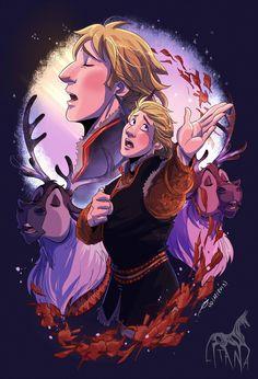 Lost In The Woods by LitanaYasha on DeviantArt Frozen Art, Frozen Disney, Disney Magic, Disney And Dreamworks, Disney Pixar, Walt Disney, Disney Characters, Disney Princesses, Lost In The Woods
